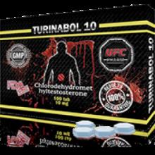 UFC pharm TURINABOL 10(usa), (туринабол 100tab 10mg)