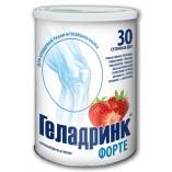Geladrink Форте для Позвоночника и хрящевой ткани(Интенсивное восстановление) 420гр. 30 дней. (Клубника, Ананас, Апельсин)