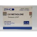 ZPHC Oxymetholone 100 tab 50mg
