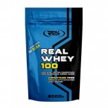 Real Pharm Real Whey 700 гр (белый шоколад - ананас, ванильно-миндальный, карамель, клубника) Польша