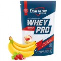 Genetic Lab WHEY PRO 1000g/30 serv (клубника, карамель, шоколад, ваниль, банан-земляника)