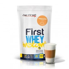 Be First Whey instant 900 гр (капучино, карамель, клубника, ваниль, шоколад)