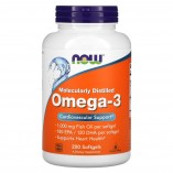 NOW Omega-3 1000 mg, 200 softgels.