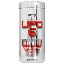 Lipo-6 Unlimited 120 caps
