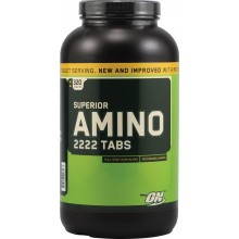 Аминокислоты Optimum Nutrition, Superior Amino 2222 Tabs, 320шт.