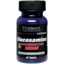 Ultimate Nutrition Glucosamine + Chondroitin + MSM, 90 tab.