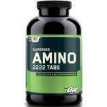 Аминокислоты Optimum Nutrition, Superior Amino 2222 Tabs, 160шт.