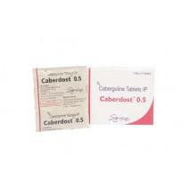 Caberdost (Каберголин, Достинекс) ( 4 таблетки по 0,5мг ) Индия