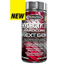 Hydroxycut Hardcore Next GEN, 100 капсул, MuscleTech
