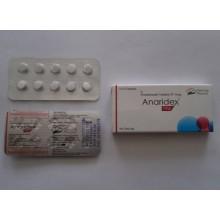 Anaridex-1 (Анастрозол 1мг 10 таблеток) Индия
