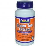 Экстракт зеленого чая Now Foods, Green Tea Extract, 100 капсул.