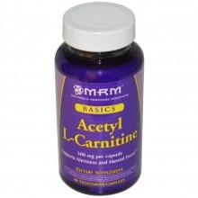MRM, L-Carnitine 60 капсул.