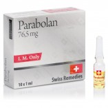 Swiss Remedies Parabolan Trenbolone Hexahydrobenzylcarbonate (76,5mg/10 ампул Швейцария)