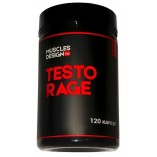 Muscles Design Testo Rage 120 капс.