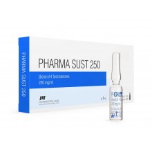 PHARMASUST 250, (Pharmacom Testosterone Mix 250 мг/мл 10 ампул)