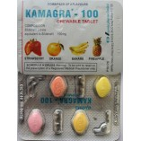 Kamagra 100мг (Жевательная Виагра Силденафил 4шт) Индия