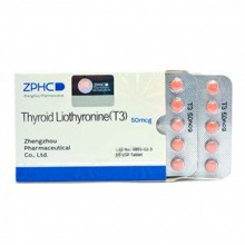 ZPHC, Thyroid Liothyronine 50 tab 25mcg