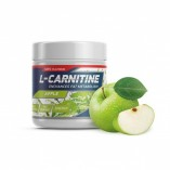 GENETIC LAB L-Carnitine Powder 150 г Лайм, Яблоко)