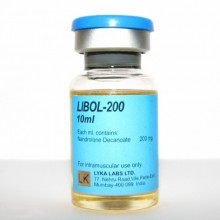 Lyka Labs Нандролон Деканоат Libol-200 (200мг/10мл Индия)